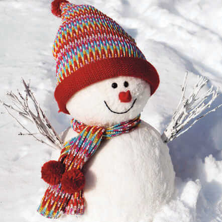 Snowman and His Big Hat